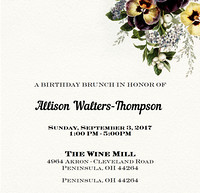 Allison Walters-Thompson Birthday 9-3-2017