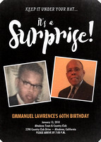 Emmanuel Lawrence Surprise 60th Birthday Party