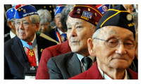 "Japanese ""Nisei"" Military Veterans who sacrificed and fought with Allied Forces in Europe, despite the fact that people of Japanese Ancestry were interned in the United States during the war. How does"