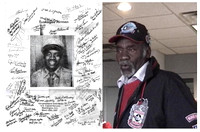 Our friend Roy Richardson, member of the famed Tuskegee Airmen, a group who never lost an airplane of the bomber crews they protected. (not a Pearl Harbor photo).