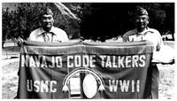 Members of the Navajo Code Talkers whose actions helped so much during the war. Its hard to believe the American Indians have the need to stand for justice at Standing Rock. (not a Pearl Harbor photo)